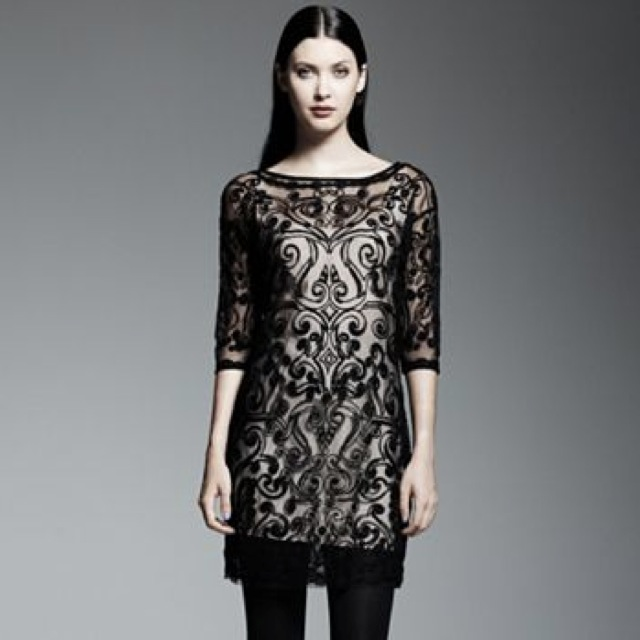 Catherine Malandrino for DesigNation Embroidered Shift Dress set - saved by Chic n Cheap Living