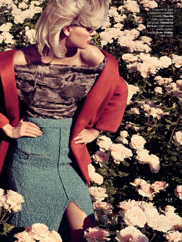 Girls & Roses Glamour Italia August 2013 Marella top - saved by Chic n Cheap Living