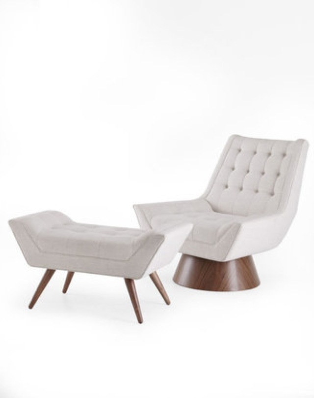 Jonathan Adler Chair And Ottoman On Horchow Saved By