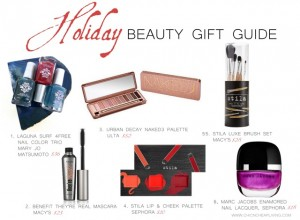 Holiday 2013 Beauty Gift Guide by Chic n Cheap Living