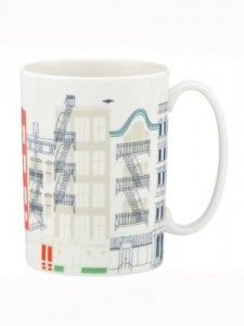 Kate Spade Hopscotch drive about town mug -saved by Chic n Cheap Living