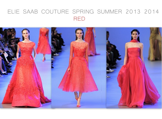 Elie Saab Spring Summer 2014 couture - red - created by Chic n Cheap Living