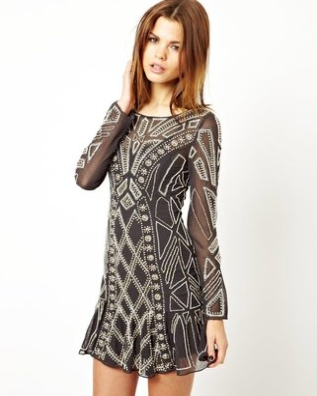 Needle & Thread Geo Pearl Dress -saved by Chic n Cheap Living