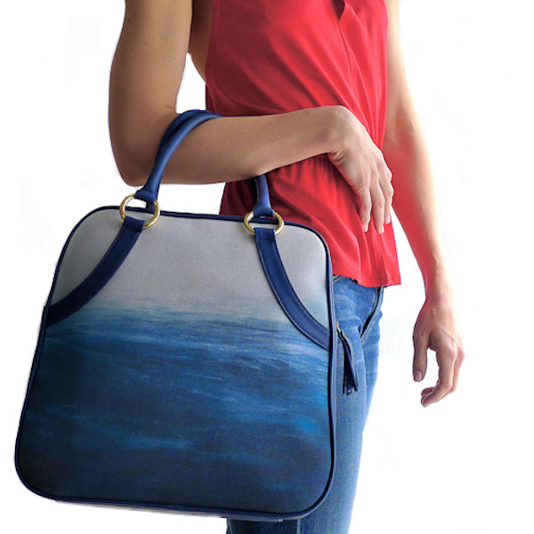 PacificCoastTote by Mary Jo Matsumoto - saved by Chic n Cheap Living