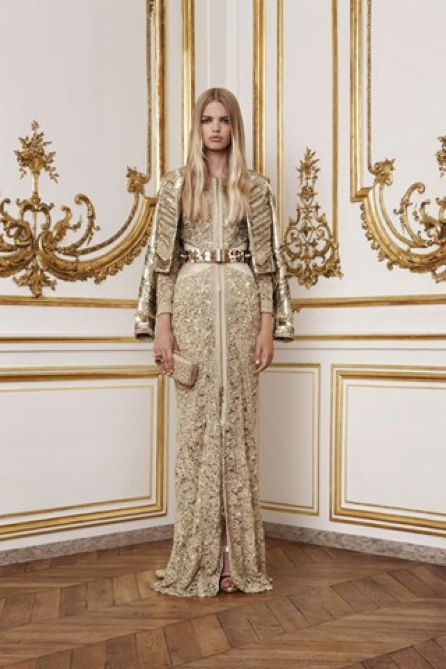 Gold Givenchy Autumn Winter 2010-2011 -saved by Chic n Cheap Living