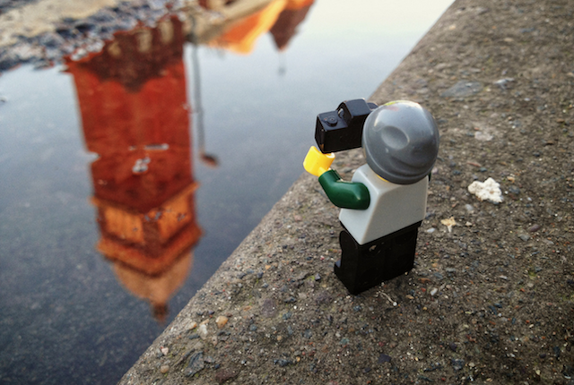 The-Legographer by Andrew White Big Ben - saved by Chic n Cheap Living