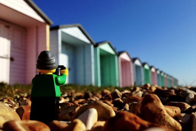 The-Legographer by Andrew White garages - saved by Chic n Cheap Living