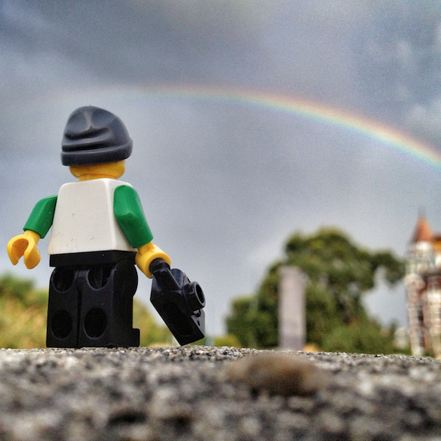 The-Legographer by Andrew White rainbow - saved by Chic n Cheap Living