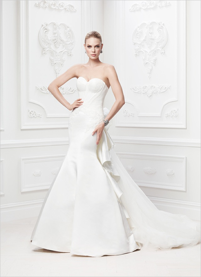 Truly zac posen wedding and evening gowns at david 39 s bridal for Truly zac posen wedding dress with sequin detail