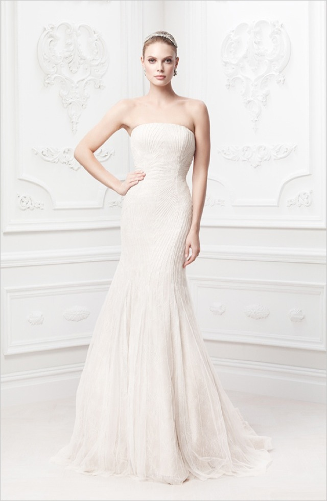 Truly Zac Posen wedding and evening gowns at David\'s Bridal