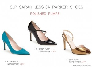 SJP Sarah Jessica Parker Polished pumps by Chic n Cheap Living