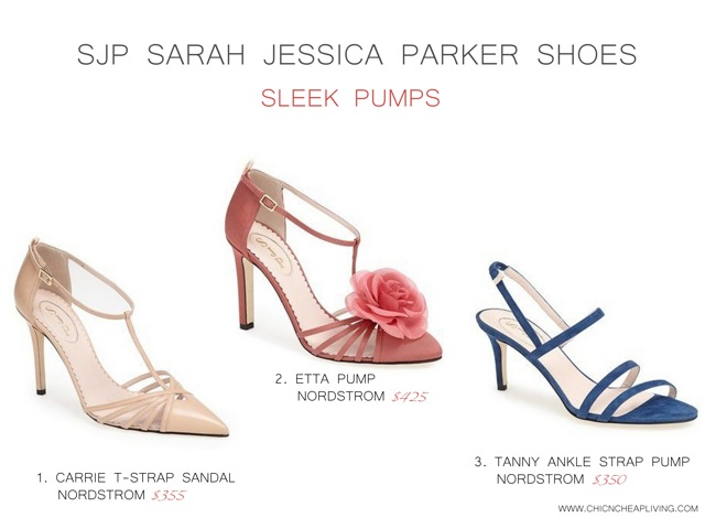 SJP Sarah Jessica Parker Sleek pumps by Chic n Cheap Living