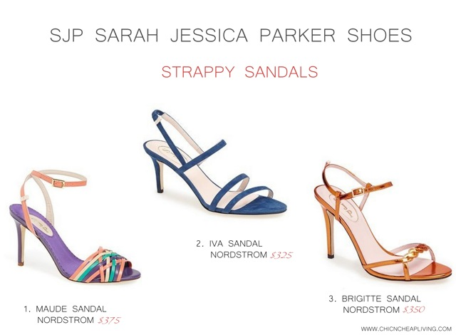 SJP Sarah Jessica Parker Strappy sandals by Chic n Cheap Living
