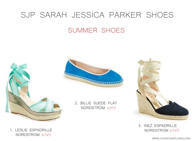 SJP Sarah Jessica Parker Summer shoes by Chic n Cheap Living