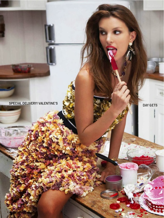 Sweetest thing floral dress worn by Kate King photographed by Skye Parrott - saved by Chic n Cheap Living