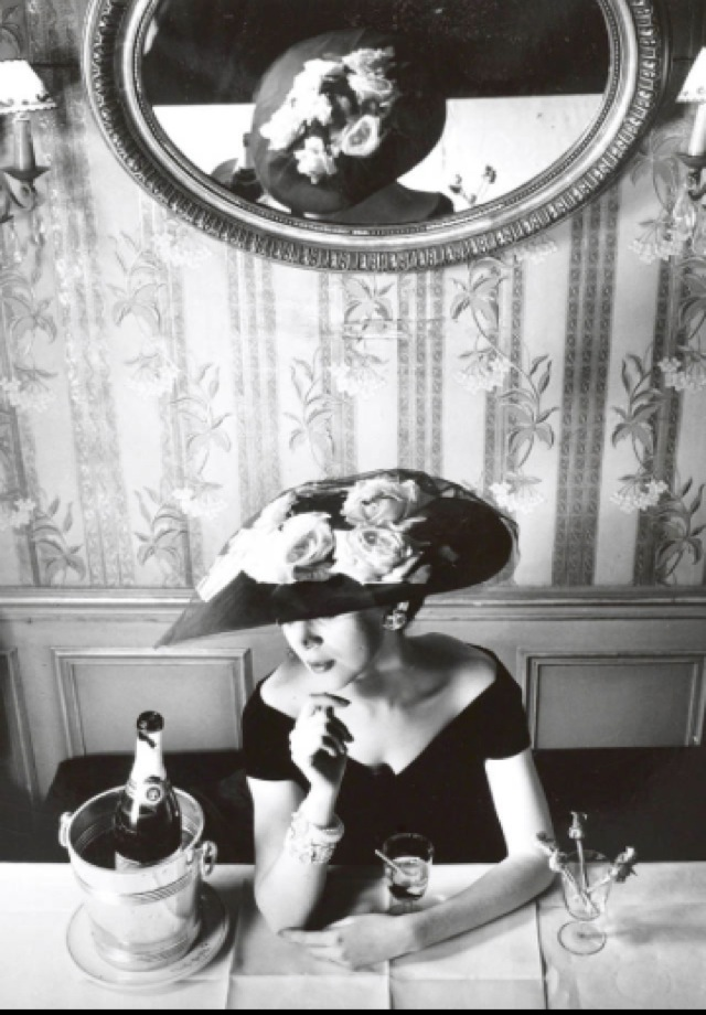 Dior shot by Henry Clarke Spring summer 1956 - saved by Chic n Cheap Living