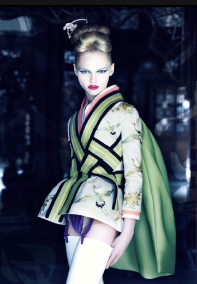 Dior shot by Patrick Demarchelier Spring Summer 2007 - saved by Chic n Cheap Living