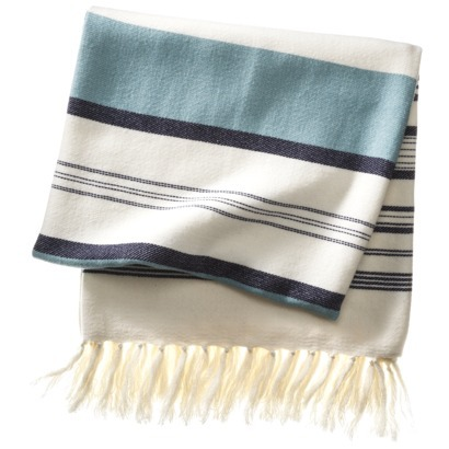 Target Threshold beach stripe throw