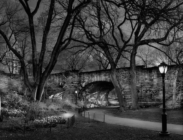 Central Park under bridge by Michael Massaia