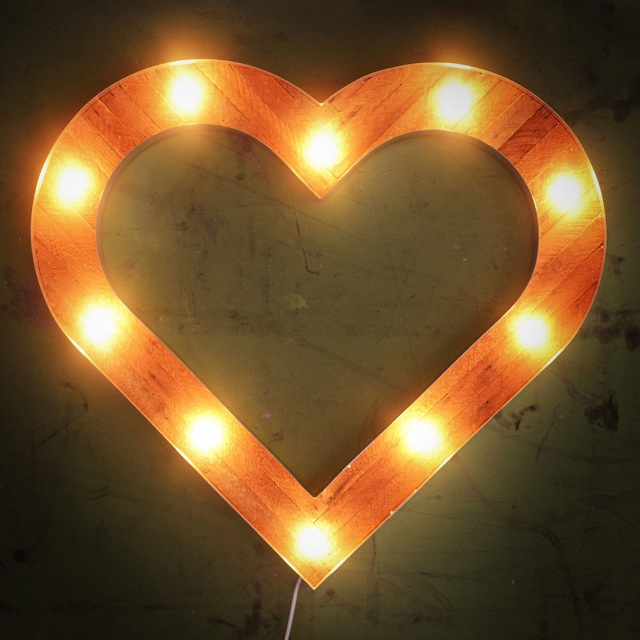 Preserve Heart marquee by coppersmith