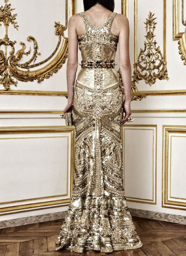 luxury Givency gown
