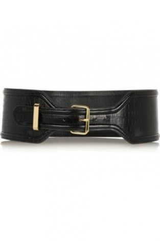 Altuzarra for Target croc effect faux leather waist belt