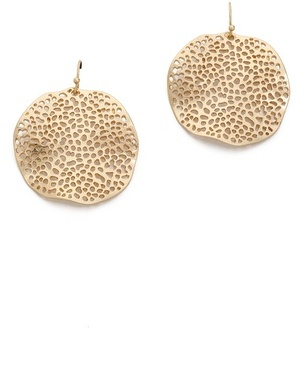 Julie Smith hammered earrings
