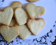 Butter cookies bunch at top by little luxury list