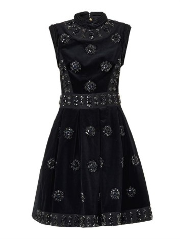 Erdem Justine crystal embellished dress
