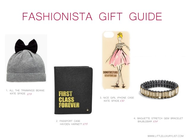 Fashionista Gift Guide part 1 by little luxury list