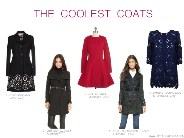 The Coolest Coats by little luxury list
