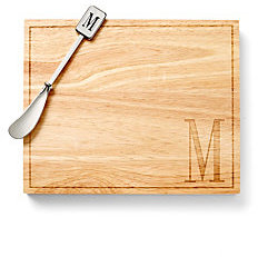 C. Wonder Monogram Cheese board