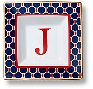 C. Wonder monogram square dishes