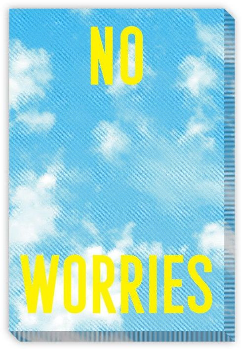 Kate Spade Saturday Wall Art - No Worries