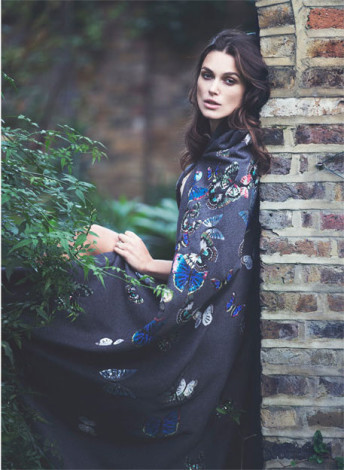 Keira Knightley Edit in floral Valentino dress