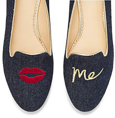 Kiss me Novelty Smoking Slipper