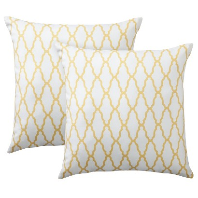 Threshold 2 pack trellis pillows