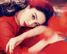 Fan Bing Bing red Elle China March 2015