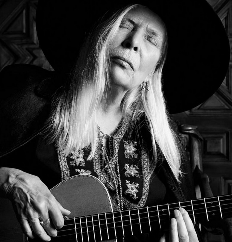 Joni Mitchell Saint Laurent Paris