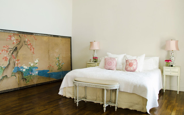 Erin Fetherston bedroom Tribeca home in Vogue
