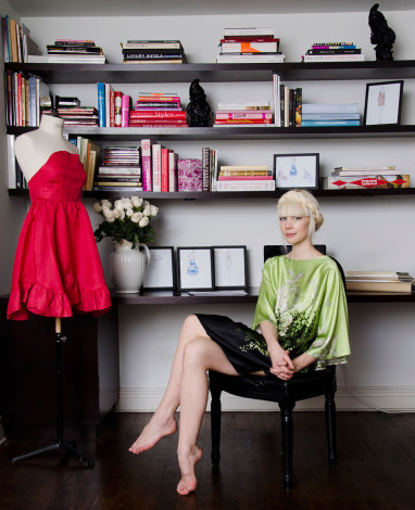 Erin Fetherston office Tribeca home in Vogue