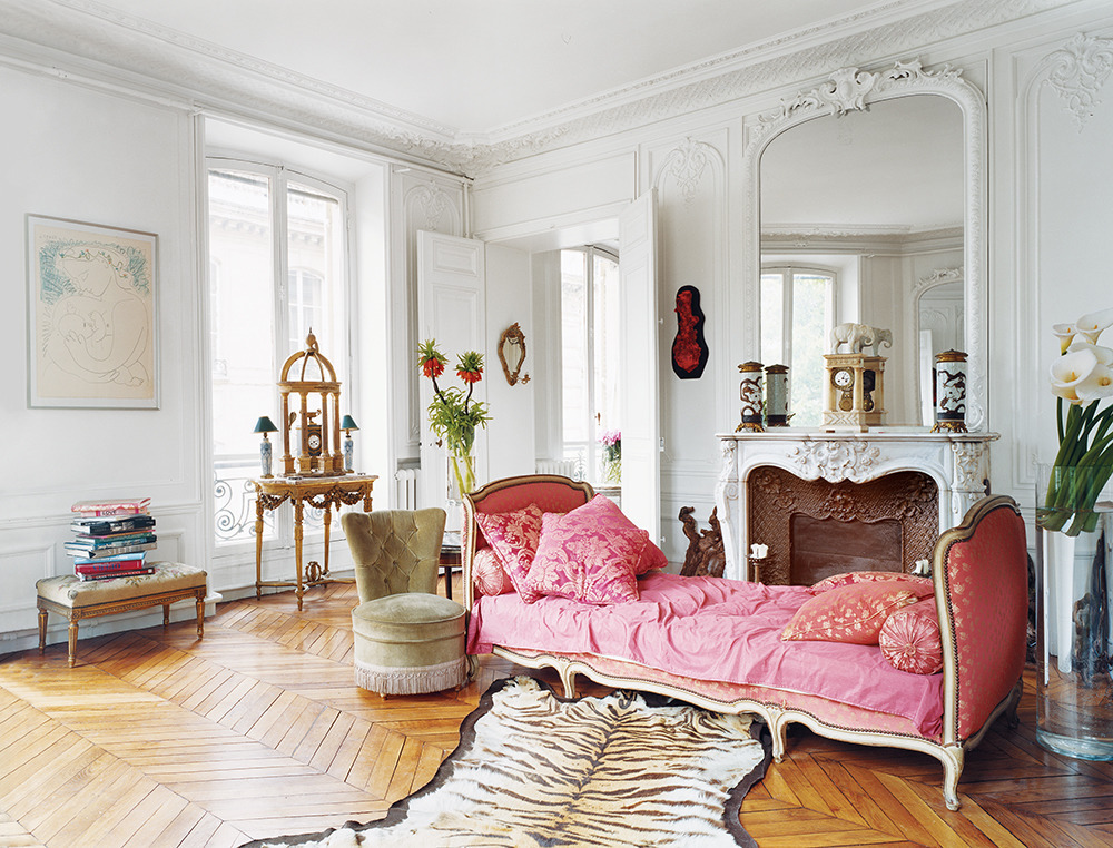 Erin Fetherston Pink Settee In Vogue