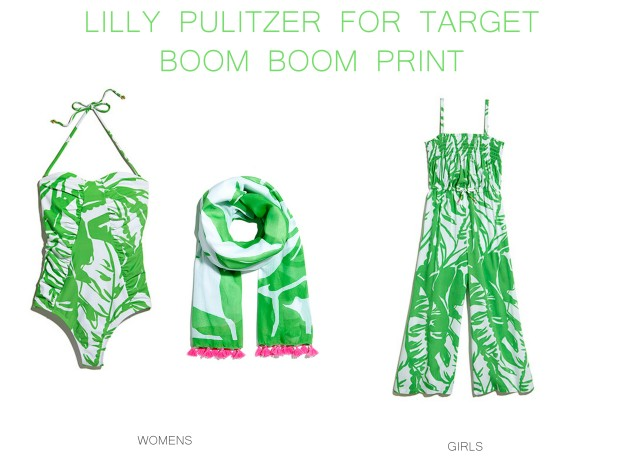 Lilly Pulitzer for Target Sea boom boom print