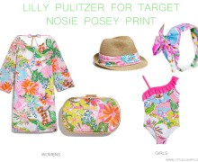 Lilly Pulitzer for Target Sea nosie posey print