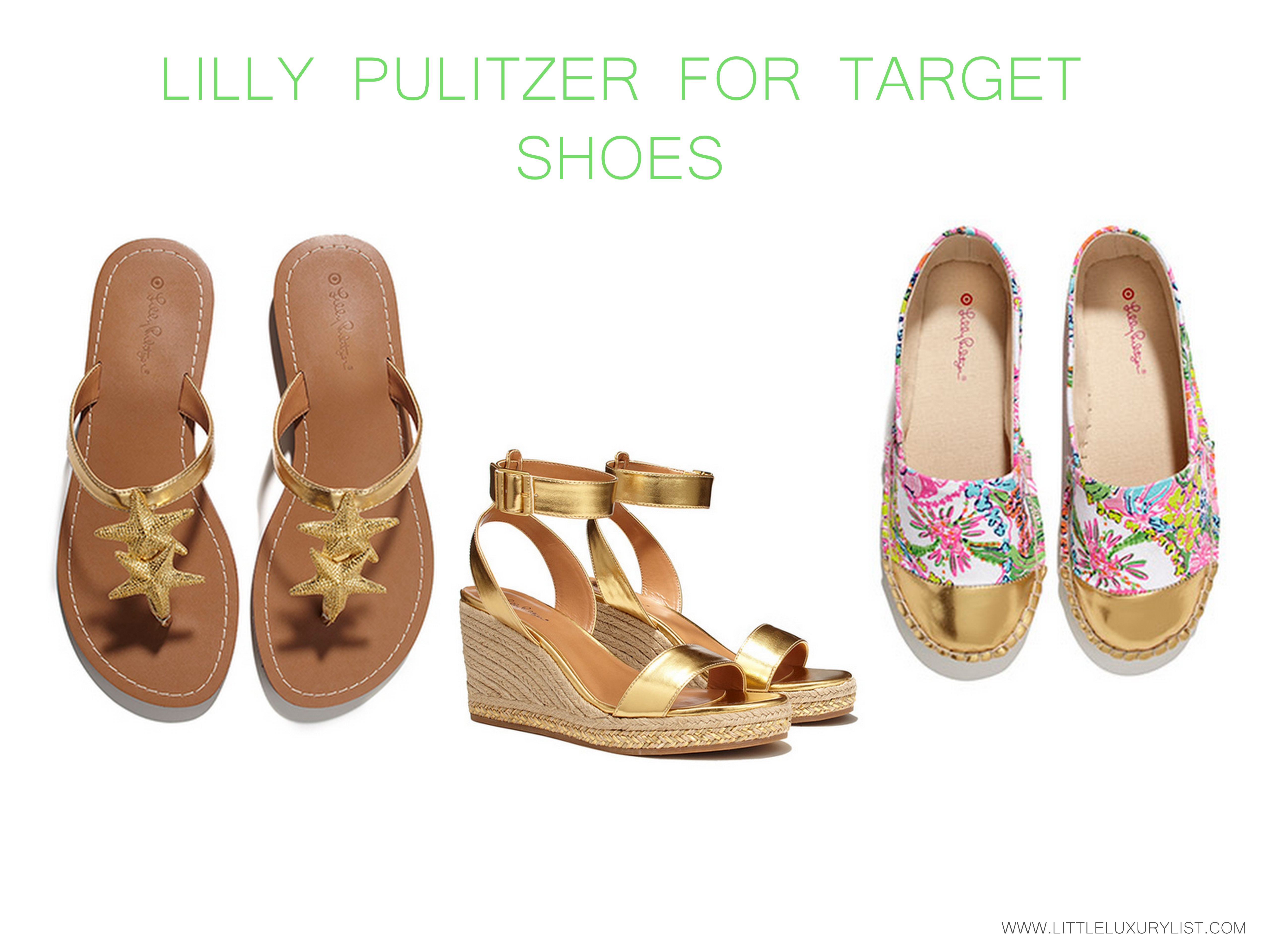 9ca8a3c84a3 Lilly Pulitzer for Target Sea shoes - little luxury list