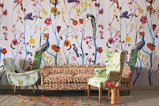 Voutsa Anthropologie living room