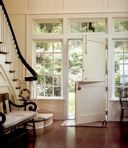 Dutch Door With Large Windows On Country Living Com
