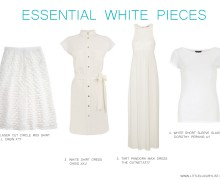 Essential White pieces by little luxury list