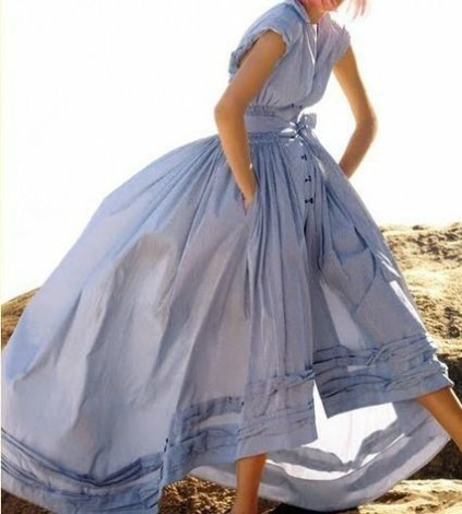 periwinkle ball gown on picturepush.com