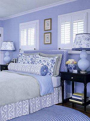 periwinkle bedroom on midwest living